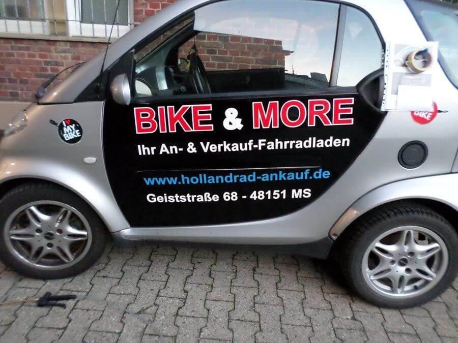 Fahrzeugbeschriftung Werbung